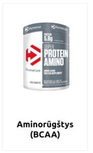 aminorugstys BCAA