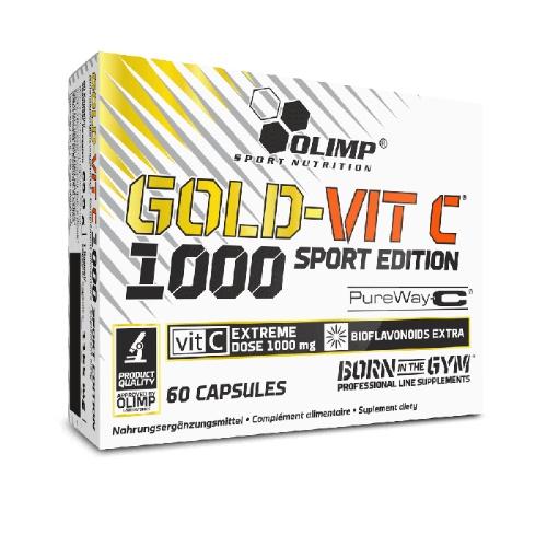 Olimp Gold-Vit Vitaminas C 60 kaps.