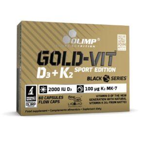 Olimp Gold-Vit Vitaminas D+K2 60 kaps.