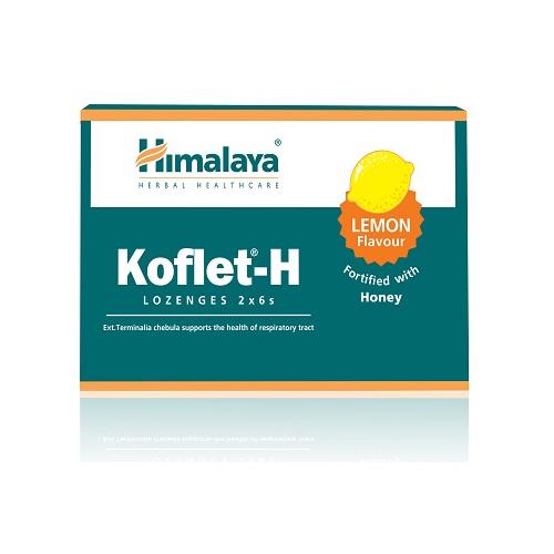 Himalaya Koflet H Kvėpavimo Takams 12 past.