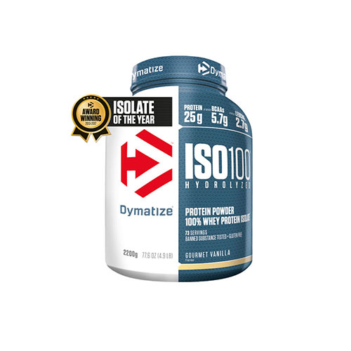 Dymatize Iso100 Hydrolyzed Isolate 2200 g