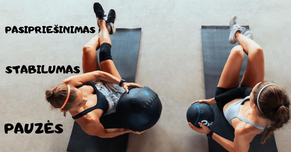 Efektyvus sportas namuose: 20 patarimų