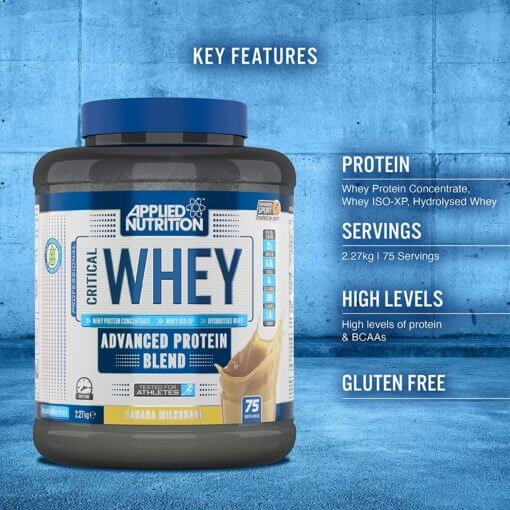 Applied Nutrition Critical Whey isvaizda 2