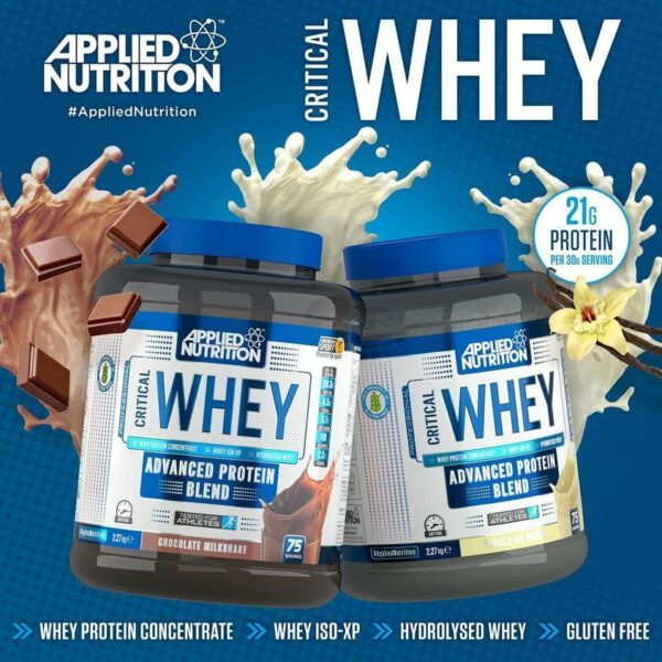 Applied Nutrition Critical Whey isvaizda
