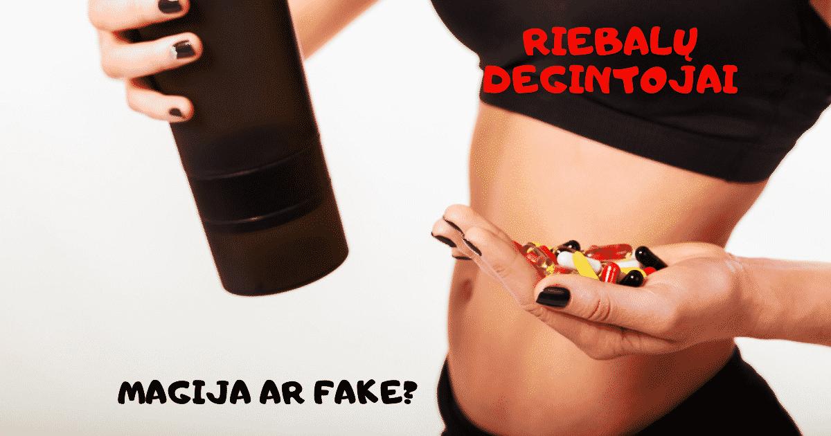 Riebalų degintojai: faktai ir realybė