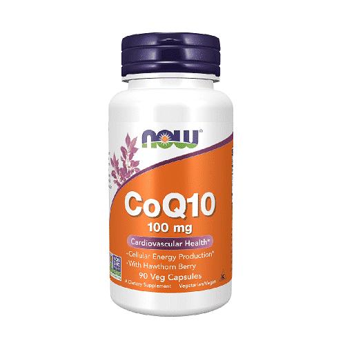 Now CoQ10 100 mg 90 kaps.