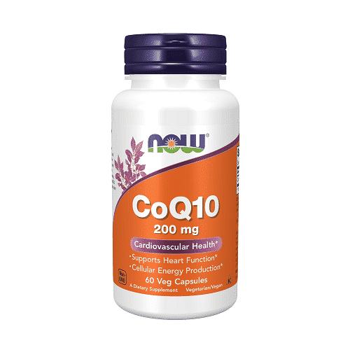 Now CoQ10 200 mg 60 kaps.
