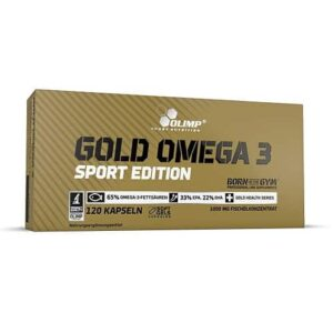 Olimp Gold Omega-3 Sports Edition 120 kaps.