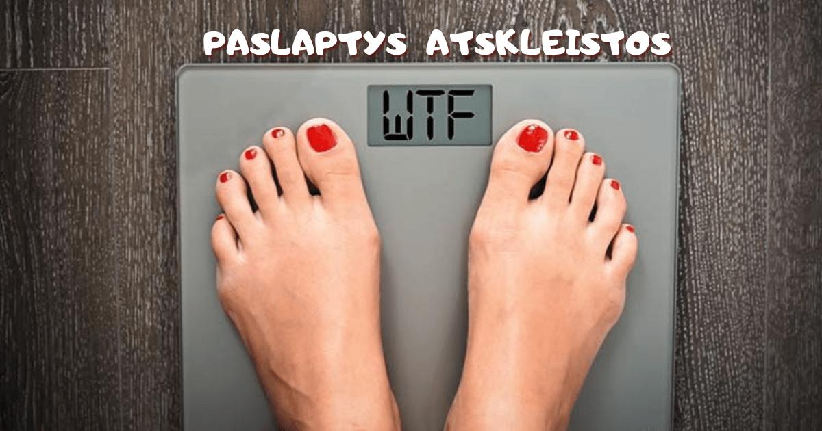 kaip greitai numesti svorio
