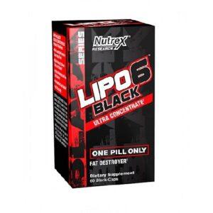 Nutrex Lipo 6 Black 60 kaps.