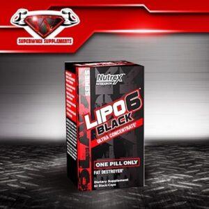 Nutrex Lipo 6 Black 120 kaps.