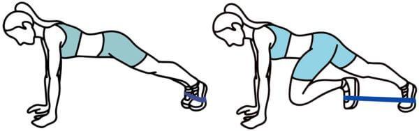 Kojų pristatymas su guma po 1 koją