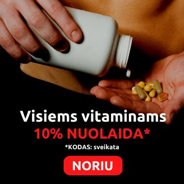 vitaminai akcija