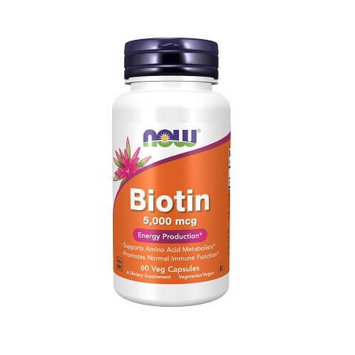 Now Biotinas 60 kaps.