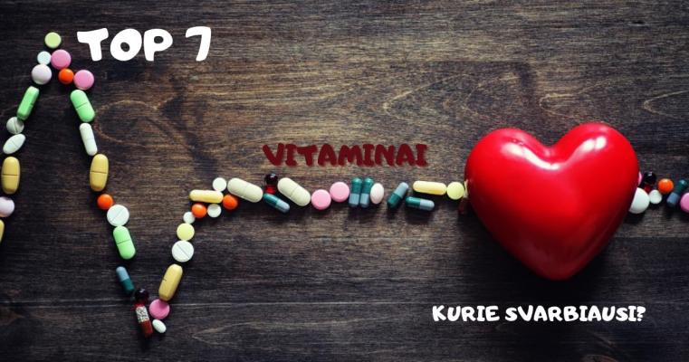 svarbiausi vitaminai