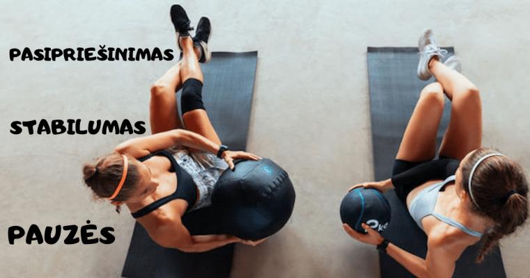 efektyvus sportas namuose