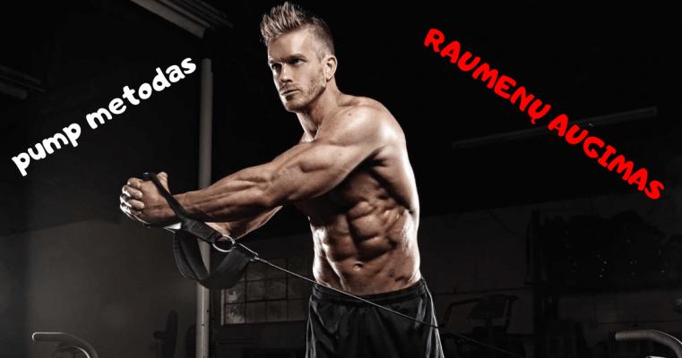 geresnis raumenu pumpas