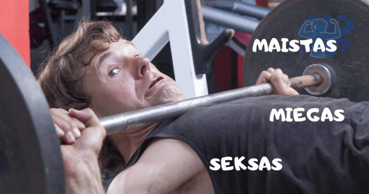ko nedaryti po treniruotes