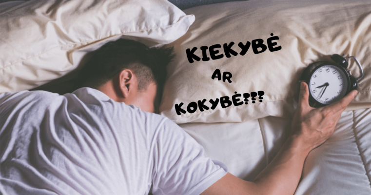miego kokybe