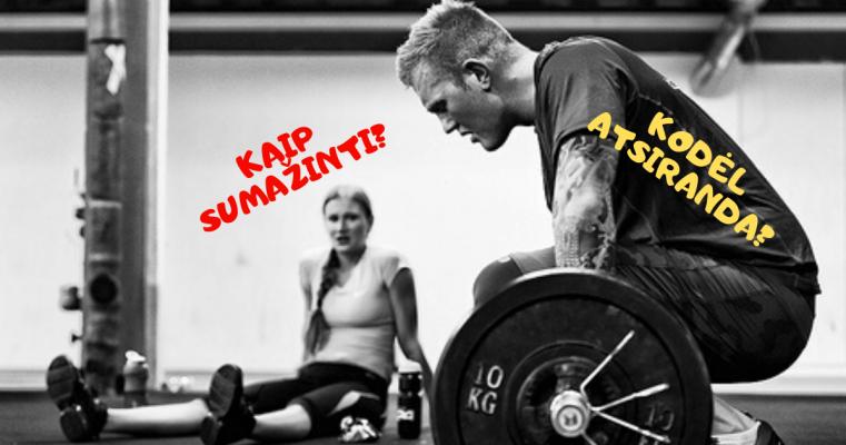 raumenu skausmas po sporto